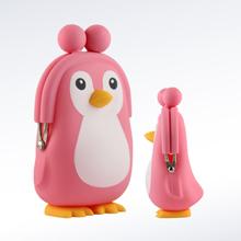 企鵝零錢包定制,硅膠禮品定制,滴膠產品