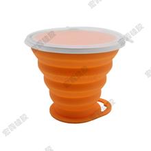 定制硅膠折疊杯,硅膠折疊咖啡杯