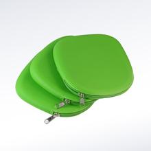 圆形硅胶拉链包,硅胶包定制,硅胶包厂家