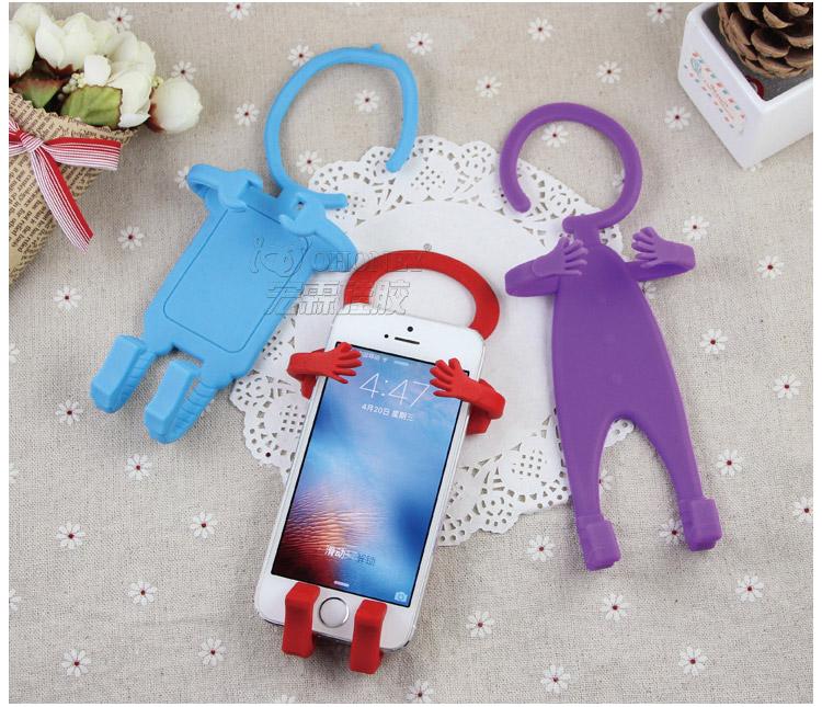 人形手机支架