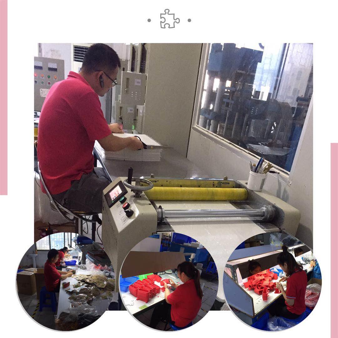 宏霖硅胶生产流程图