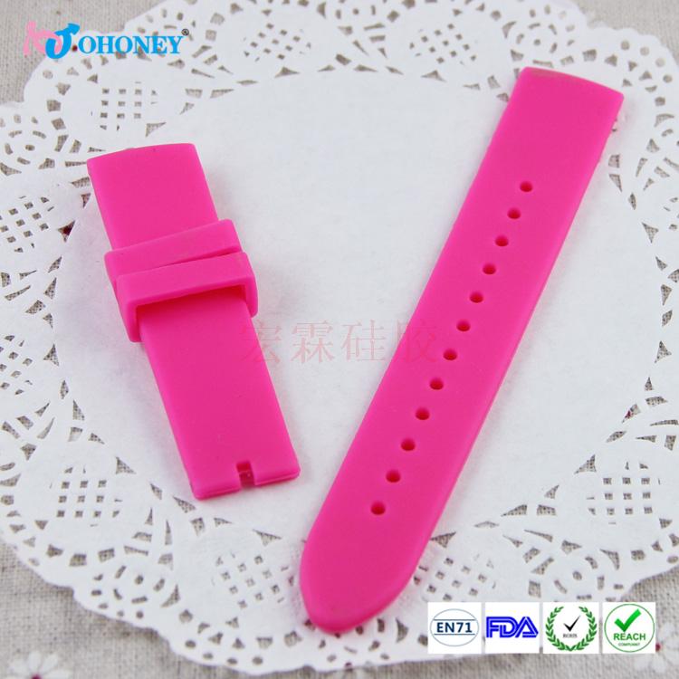 硅胶表带定做,硅胶智能表带定制,手表硅胶表带