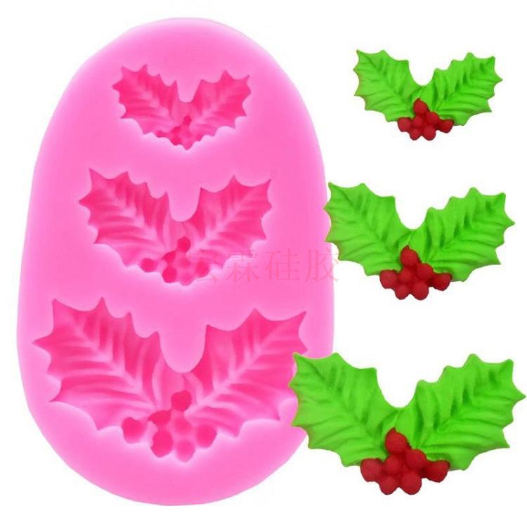 硅胶松果模具,定制硅胶蛋糕装饰模具