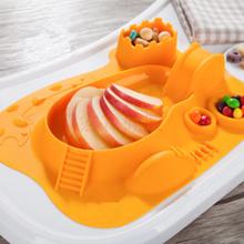 定制硅膠餐盤,嬰兒輔食硅膠餐盤廠家