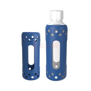 新款折叠矽膠杯套水杯 户外学生实用,矽膠杯套定制